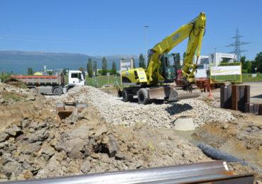 Les Cabinotiers : Réalisation du terrassement et des travaux spéciaux